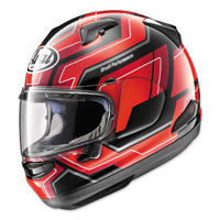 Arai Signet-X Place Red Full Face Helmet