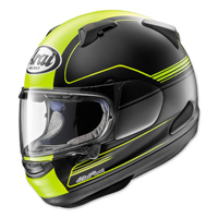 Arai Signet-X Focus Yellow Frost Full Face Helmet