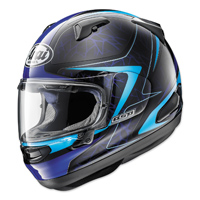 Arai Quantum-X Sting Blue Full Face Helmet