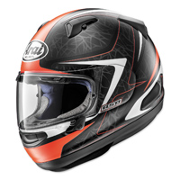 Arai Quantum-X Sting Frost Red Full Face Helmet