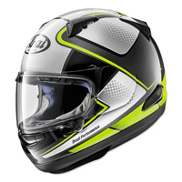 Arai Quantum-X Sting Box Yellow Full Face Helmet