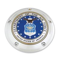 Custom Engraving Ltd. Air Force Seal Derby Cover