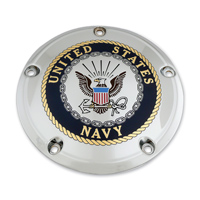 Custom Engraving Ltd. Navy Color Derby Cover