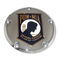 Custom Engraving Ltd. POW Crest Derby Cover