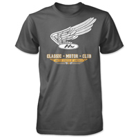 Honda Men's Vintage Motor Club Charcoal T-Shirt