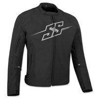 Speed and Strength Men's Hammer Down Black Textile Jacket