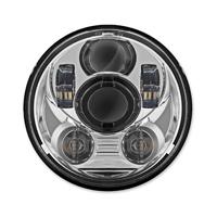 HogWorkz 5-3/4″ LED Chrome V2 Headlight