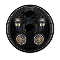 HogWorkz 5-3/4″ LED Blackout V2 Headlight