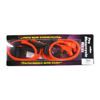 Sumax 8mm Orange Spark Plug Wire Set