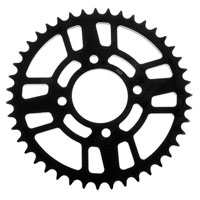 BikeMaster Black Steel 630 Rear Sprocket 43 Tooth