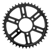 BikeMaster Black Steel 630 Rear Sprocket 42 Tooth