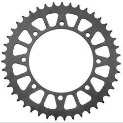 BikeMaster Black Steel 530 Rear Sprocket 49  Tooth