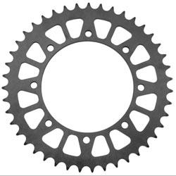BikeMaster Black Steel 530 Rear Sprocket 44  Tooth