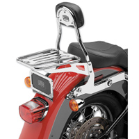 Cobra Chrome Detachable Backrest