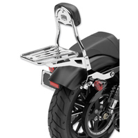 Cobra Chrome Round Tube Luggage Rack