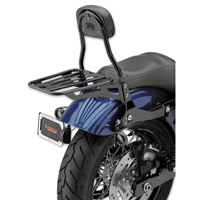Cobra Black Round Tube Luggage Rack