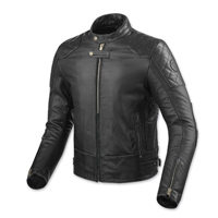 REV′IT! Men's Lane Black Leather Jacket