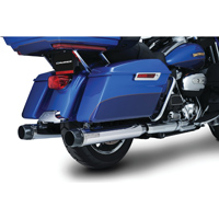 Crusher Maverick Slip On Mufflers Chrome