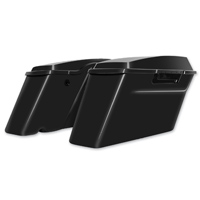 HogWorkz Vivid Black OEM Replacement Saddlebags with Lids