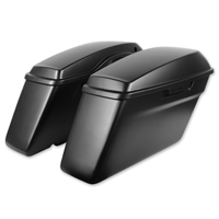 HogWorkz Denim Black OEM Replacement Saddlebags with Lids