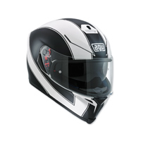AGV K-5 S Enlace Matte White Full Face Helmet