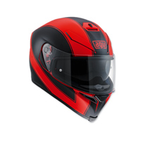 AGV K-5 S Enlace Matte Red Full Face Helmet