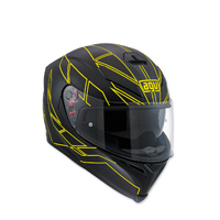 AGV K-5 S Hero Black/Hi-Viz Full Face Helmet