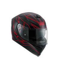 AGV K-5 S Hero Black/Red Full Face Helmet