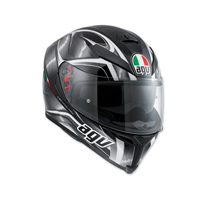 AGV K-5 S Hurricane Black/Gray Full Face Helmet