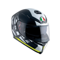AGV K-5 S Darkstorm Black/Yellow Full Face Helmet
