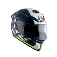 AGV K-5 S Darkstorm Black/Yellow Full Face Helmet