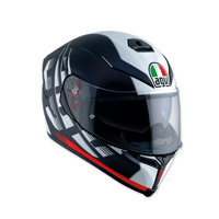 AGV K-5 S Darkstorm Black/Red Full Face Helmet