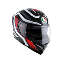 AGV K-5 S Firerace Black/Red Full Face Helmet