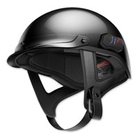 Sena Technologies Cavalry Bluetooth Gloss Black Half Helmet