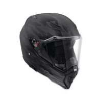 AGV AX-8 Evo Naked Fury Carbon Full Face Helmet