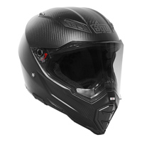 AGV AX-8 Evo Naked Matte Carbon Full Face Helmet