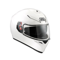 AGV K-3 SV White Full Face Helmet