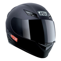 AGV K-3 Matte Black Full Face Helmet