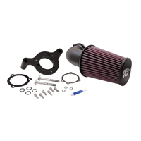 K&N 90° FIPK Performance Air Cleaner Intake Kit Black
