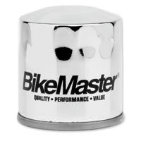 BikeMaster Chrome Spin On Oil Filter