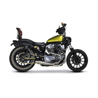 Two Brothers Racing Comp-S 2-1 Brush Stainless Steel Exhaust with Stainless End Cap