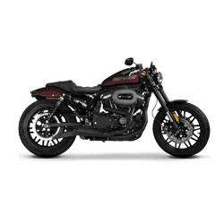Two Brothers Racing Comp-S 2-1 Exhaust Cerakote Black with Carbon Fiber End Cap