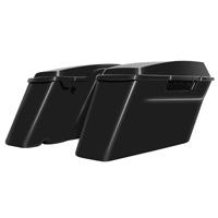 HogWorkz Standard Saddlebag Conversion Kit with Black Brackets
