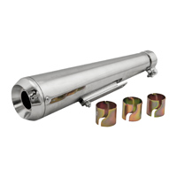 HardDrive Parts Chrome Megaphone Muffler