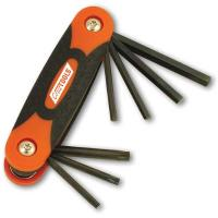 CruzTOOLS Folding Hex and Torx Key Set