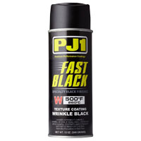 PJ1 Wrinkle Satin Black Paint