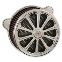 HardDrive Parts Air Cleaner Assembly Luck Chrome