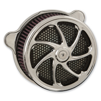 HardDrive Parts Air Cleaner Assembly Flow Chrome