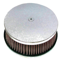 HardDrive Parts Classic Smooth Air Cleaner Chrome