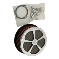 HardDrive Parts Classic 5 Spoke Air Cleaner Chrome